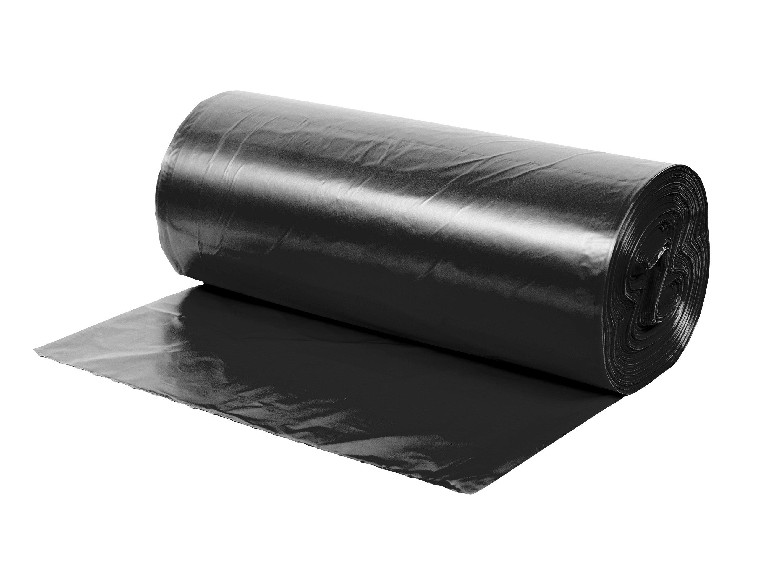 Siyah Endüstriyel Hantal Boy Çöp Torbası